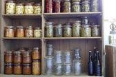 Preserving jars — Stock Photo