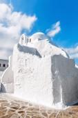 Panagia Paraportiani church in Mykonos — Stock Photo