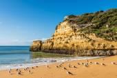 Praia Carvalho playa de Benagil — Foto de Stock