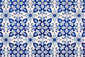 Azulejos traditionnels à Tavira — Photo