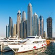 Yachts at Dubai Marina — Stock Photo #65468639