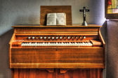 Antique organ — Stock Photo
