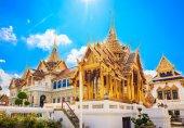 Traditional Thai architecture Grand Palace Bangkok — Stock Photo