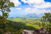 Tub Kaek - Nak Hill Nature Trail viewpoint — Stock Photo