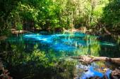 Emerald blue natural Pool. Krabi province, Thailand — Stock Photo
