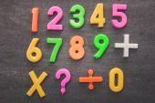 Colorful Numeral Stuff — Stock Photo