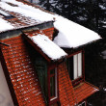 Loft under the snow — Stock Photo #54972647