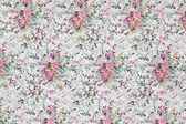 Floral pattern textile — Stock Photo