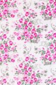 Retro Floral Textile — Stock Photo