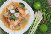 Thai food (Tom yum goong) — Stock Photo