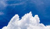 небо облака — Стоковое фото