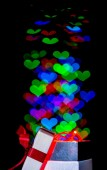 Caja de regalo de amor — Foto de Stock
