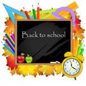 De volta à escola. — Vetorial Stock