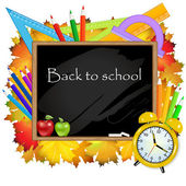 Zpátky do školy. — Stock vektor