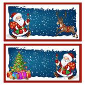 Christmas banners. — Stok Vektör