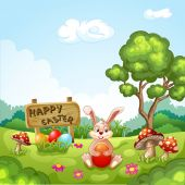 Easter Holidays — Stock Vector