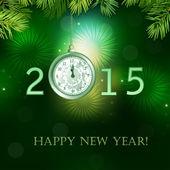 Happy New Year illustration . — Stock Vector