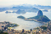 Sugarloaf Mountain and Botafogo Bay — Foto Stock