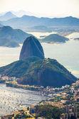 Sugarloaf Mountain in Brazil — Stock Photo