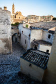 Streets of Matera — Stock Photo