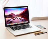 Photo of Macbook pro — Stock Photo