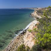 Coast of Algarve in Portugal — ストック写真