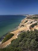 Coast of Algarve in Portugal — Fotografia Stock