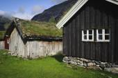 Norwegian Village — Stock Photo