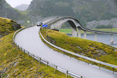 Runde bridge.Norway — Stock Photo