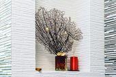 Decorative elements in the bathroom — Stock Photo