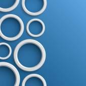 抽象的な背景の円に — ストックベクタ