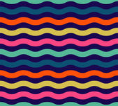 Seamless colorful wave pattern — Vecteur