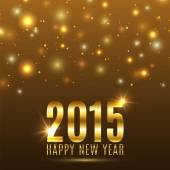Happy New Year 2015 celebration background — Stockvektor