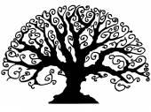 Celtic like tree vector — Stock Vector