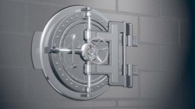 Banka güvenli — Stok video