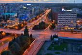 Panorama of the city center. Kaliningrad — Stock Photo