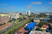 Central part of the modern city. Kaliningrad — Stock Photo