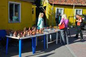 Trade of Souvenirs. Kaliningrad — Stock Photo