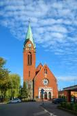 Rosenau Church in Koenigsberg, now Kaliningrad — Stock Photo