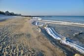 Winter Baltic sea — Stock Photo