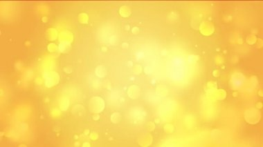 Gold bokeh animation — Wideo stockowe