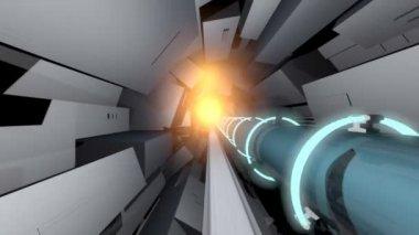 Colisionador de hadrones — Vídeo de Stock