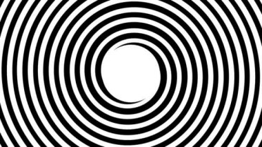 Hypnotic spiral — Stockvideo