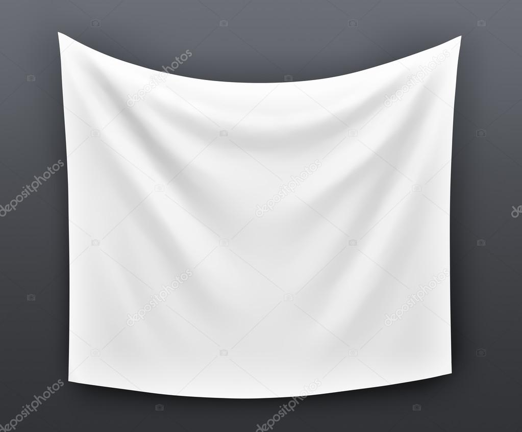 empty cloth banner with folds stock photo 169 gl0ck 65369123