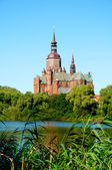 Mariakyrkan i Stralsund. Tyskland — Stockfoto