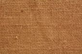 Close up of burlap texture — Stock Photo