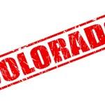 Colorado red stamp text — Vetor de Stock  #62767179
