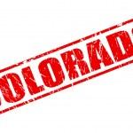 Colorado red stamp text — ストックベクタ #62767179
