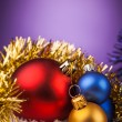 Beautiful Christmas balls — Stock Photo #60282055