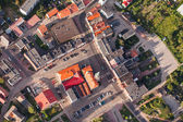 Otmuchow town in Poland — Stock Photo